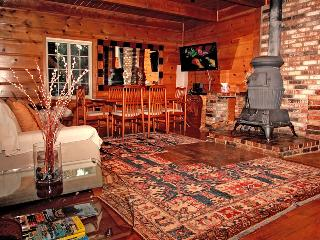 Steps to Heavenly Gondola:Modern Knotty Pine Cabin - South Lake Tahoe vacation rentals