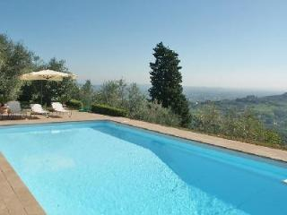 La Rocca- Tuscan décor, pristine grounds, superb countryside views & pool - Lucca vacation rentals