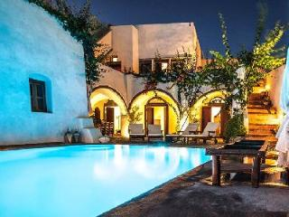 Mansion 1878 - Spacious villa with pool, panoramic views & unique character - Megalochori vacation rentals