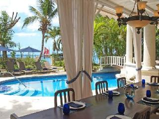 New Mansion steps to pristine beach with superb Caribbean views, pool & staff - Saint James vacation rentals