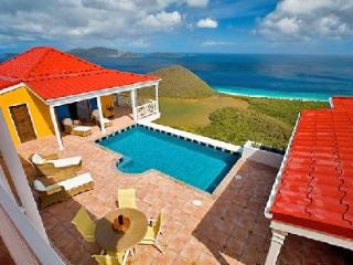 Sunny Side Up - Hillside villa offers breathtaking island & sea views, pool & fun - Tortola vacation rentals