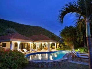 Family friendly Villa On The Beach offers ocean views, pool, shared tennis court and watersports - Virgin Gorda vacation rentals