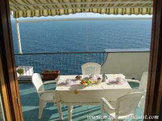 Casa Raffaela A - apartment with seaview terrace, WIFI and garage - Praiano vacation rentals