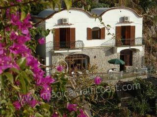 Villa Vittoria - right above the sea - Praiano vacation rentals