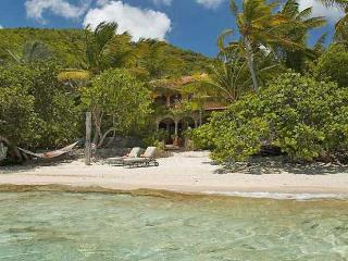 Luxury 4 bedroom St. John villa. Located on Peter Bay Beach! - Peter Bay vacation rentals