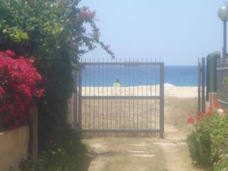 Perfect beachside location - 40 mt. from the sea. - Solanas vacation rentals