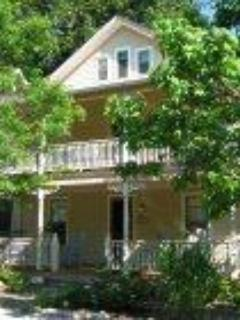 Front view of cottage at 36 Foster St. - 1BR APT  Chautauqua, for arts, education, religion - Chautauqua - rentals