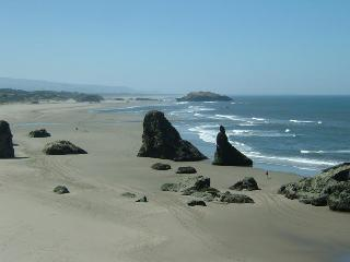 Steps to Beach,No Stairs!,Comfy,Aug.28-Sept.5!Open - Bandon vacation rentals