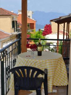 Nikos Apartments inthe middle of Loggos village - Loggos vacation rentals