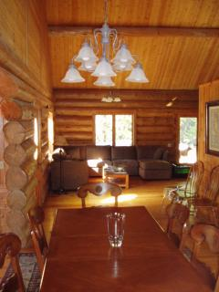 Beautiful Affordable BIG Custom Built Log Home - Whitefish vacation rentals