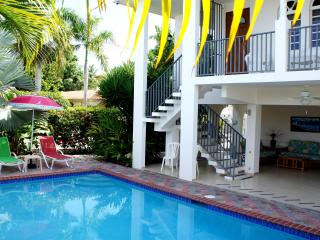 Best Family Rental w/Pool Steps from Corcega Beach - Rincon vacation rentals