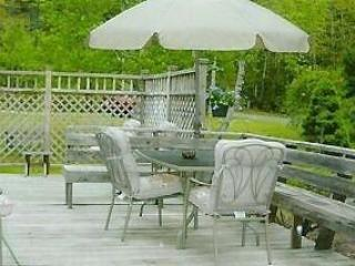 Deck  12 x 30 - Acadia Seaside Cottage - Bar Harbor - rentals