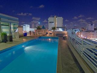 Beautiful 1 bedroom Miami Beach Apartment with Deck - Miami Beach vacation rentals