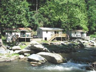 River View Cabins on Stocked Trout River in WNC - Chimney Rock vacation rentals