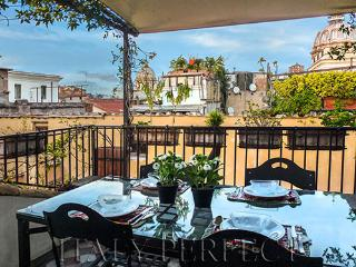 Perfect Terrace-Views-Piazza Navona-Campo Fiori Desirable Area - Danza Apartment - Rome vacation rentals
