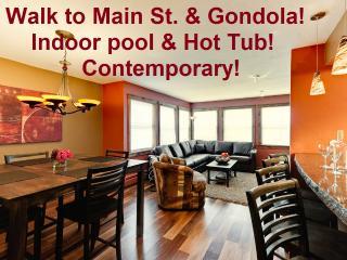 2 minute walk to Main St. Indoor Pool & Hot-Tub! - Breckenridge vacation rentals