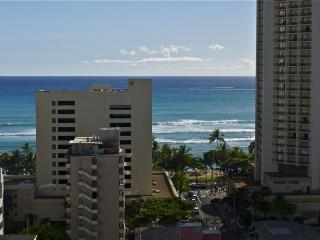 Watch Waikiki surfers from your personal lanai! - Honolulu vacation rentals