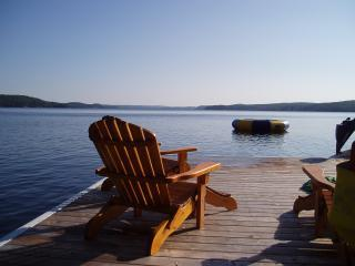 On the Dock - Log Cabin with Magnificent view on Lake of Bays - Bracebridge - rentals