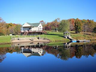 Lodge on the Lake - Secluded, rustic lodge - Logan vacation rentals