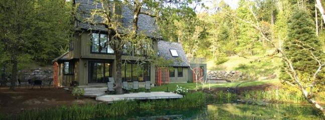 View of house from across the lake - The Lake House - Enchanting Wine Country Privacy - Yamhill - rentals
