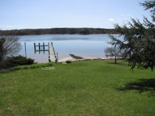 HINES POINT CLASSIC WATERFRONT HOME WITH PRIVATE BEACH, DOCK AND MOORING - VH NBIN-57 - Vineyard Haven vacation rentals