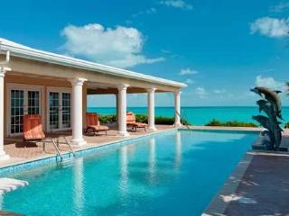 Three Dolphins Beachfront Tennis Villa 4-12 bedrooms,24/7 dedicated concierge - Long Bay Beach vacation rentals