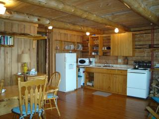 Big Hill Retreat - secluded Log Chalet - Baddeck vacation rentals