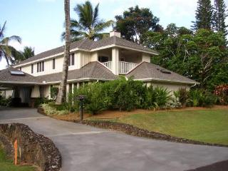 Luxury 4 BDRM Home Walk to Beach Kauai North Shore - Princeville vacation rentals