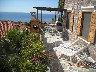 Central Molyvos apartment with panoramic views. - Molyvos vacation rentals