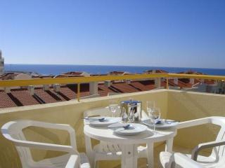 2 bedroom 8th floor apt with spectacular sea views - Quarteira vacation rentals