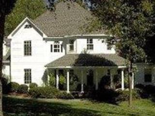 Grand Victorian Front Elevation - Southern Elegance & Charm- Prestigious Sedgefield - Greensboro - rentals