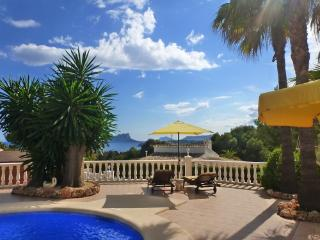 Wonderful villa in Moraira with stunning sea views - Moraira vacation rentals