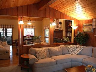 Luxury Lakefront with Hot Tub, Boat & Game Room - Mount Pocono vacation rentals