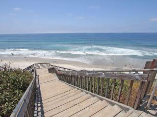 Walk to Lifeguard Station # 28  across the street. - Carlsbad vacation rentals