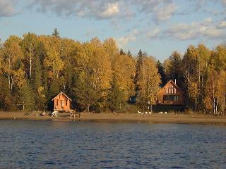 SUNSET BAY- Lakefront  Log Vacation Home, Dog Lake - Thunder Bay vacation rentals