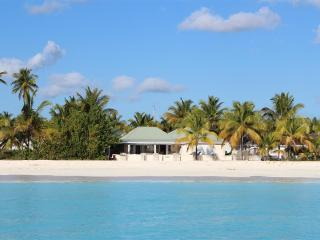 Island View Beach House - Beachfront 5 Bedrooms in Jolly Harbour, Antigua - Antigua vacation rentals