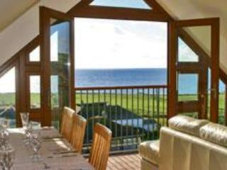 View from the lounge - Coastal Luxury Holiday Accommodation in Cornwall - Praa Sands - rentals