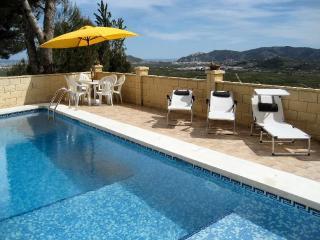 Villa with panoramic views and private pool - La Xara vacation rentals