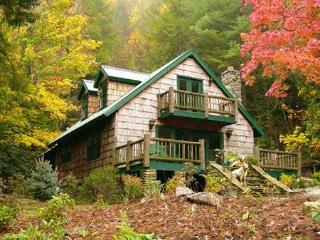 "The secluded, luxury ""STREAMSIDE HOME"" - Brevard vacation rentals"