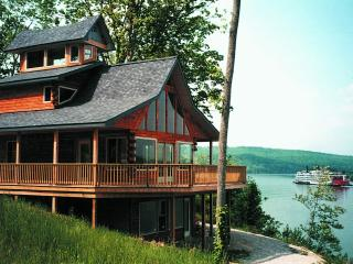 Colucci Log Cabins on the Ohio River, Herons Nest. - Kentucky vacation rentals