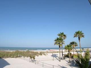 Treasure Island Gulf Front Duplex - South Side, Sleeps 4, Small Dog Friendly! - Treasure Island vacation rentals