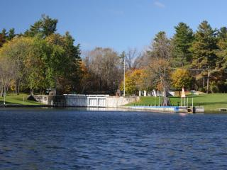 Luxe eco waterfront cottages,  UNESCO Rideau Lakes - Newboro vacation rentals