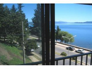 view from living - DOWN TOWN LAKEFRONT APARTMENT WITH PANORAMIC VIEWS - San Carlos de Bariloche - rentals