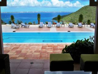 LE PRIVILEGE...huge villa with stunning views of Marcel Cove. - Anse Marcel vacation rentals