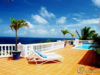 BEAUTIFUL VILLA VISTA...in a gated community in Red Pond EstatesVILLA VISTA...  Lovely couples villa with beautiful views of - Guana Bay vacation rentals