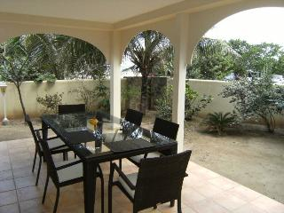 CARIBBEAN RIVIERA #1... beachfront townhome on Orient Beach, contemporary - Orient Bay vacation rentals