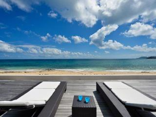 INTERLUDE... Spacious, Elegant, BEACHFRONT St Martin rental villa - Baie Rouge vacation rentals
