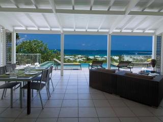 LA SARABANDE...magnificent 180 view over Orient Bay, 3 equal master suites & 2 baths - Orient Bay vacation rentals