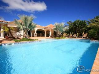 CASA DEL SOL...  A beautiful villa with huge pool, very tropical lot in Orient Bay - Orient Bay vacation rentals