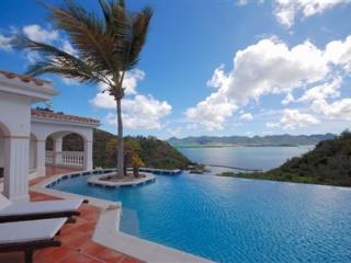 Waterfront on Simpson Bay, Infinity Pool, Great for Large Groups, Tennis Court, Short Drive to Beach - Terres Basses vacation rentals